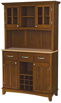 Alcott Hill Sedgemoor China Cabinet Top Material: Stainless Steel,