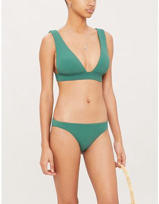 Eberjey Pique Vivian V-neck bikini top