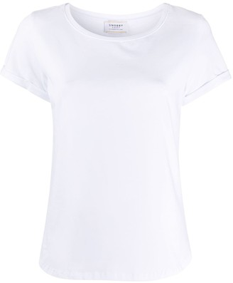 Snobby Sheep curved-hem T-shirt