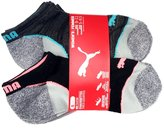 Puma Women's No Show Sports Socks - 6 Pairs, Shoe