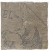 Diesel logo embroidered scarf