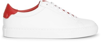 Givenchy Urban Street white red sneakers