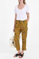 Etoile Isabel Marant Alka Cotton Print Trousers
