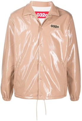032c Nude Patent Jacket