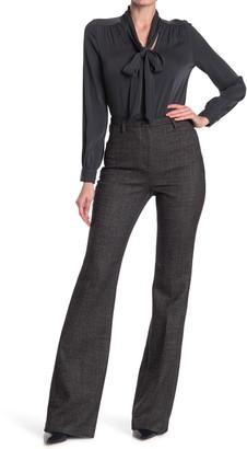 Akris Farrah Tweed Flare Wool Blend Suit Pants