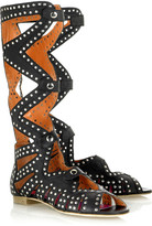 Anna Sui Studded gladiator sandals
