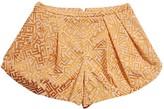 Patrizia Pepe Orange Shorts for Women