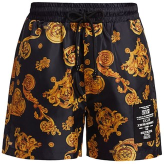 Versace Graphic Printed Shorts