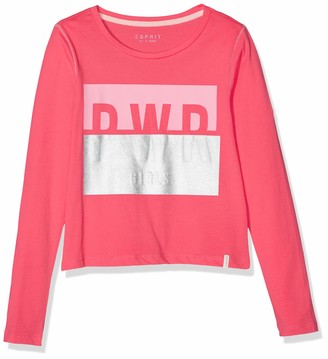 Esprit Girl's Rp1007507 T-Shirt Long Sleeves Top
