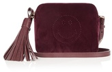 Anya Hindmarch Smiley velvet cross-body bag