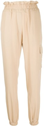 Forte Dei Marmi Couture Paperbag Tapered Trousers