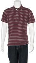 Billy Reid Striped Woven Polo w/ Tags