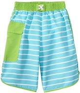 I Play Boys' Classic Boardshort w/Builtin Swim Diaper (6mos-4T) - 8145773