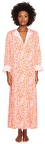 Oscar de la Renta Print Caftan Women's Robe