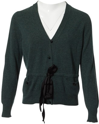 Louis Vuitton Green Wool Knitwear