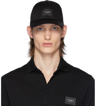 Dolce & Gabbana Black Essential Baseball Cap