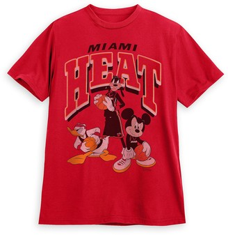 Disney Mickey Mouse and Friends Miami Heat T-Shirt for Adults by Junk Food