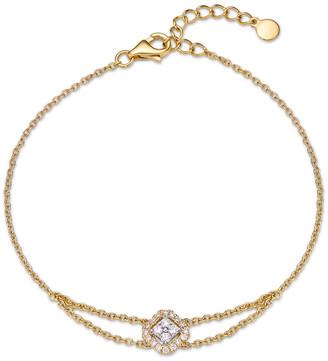 Memoire Stack 'Em Up 18K 0.15 Ct. Tw. Diamond Bracelet