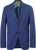 Etro - Blue Wool And Cotton-blend Blazer