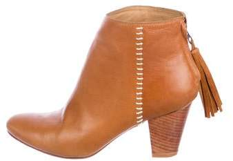 Ulla Johnson Leather Ankle Boots