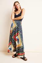 Farm Rio Vieques Maxi Skirt