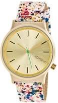 Komono WIZARD PRINT Watch pink/goldfarben
