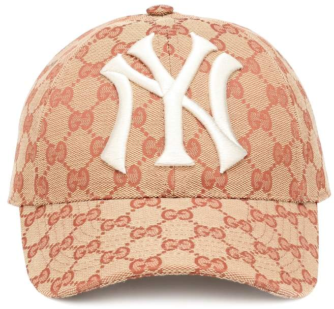 Gucci NY Yankees patch cap