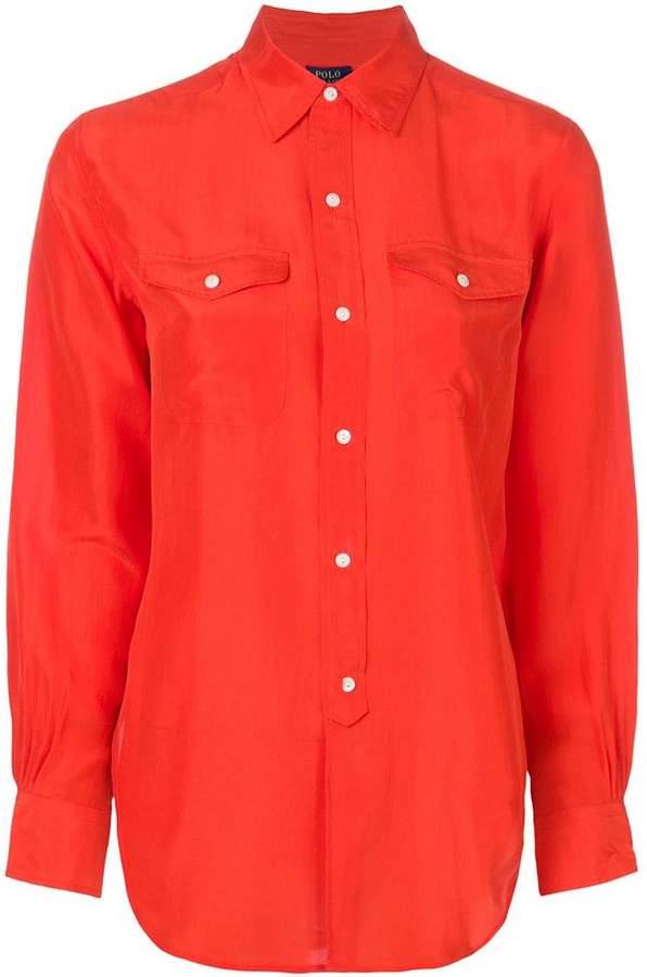 Polo Ralph Lauren fluid buttoned blouse
