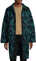 M Missoni Women's Patched Wool Coat