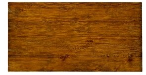 "Jonathan Charles Fine Furniture Solid Wood Dining Table Color: Country Farmhouse Walnut, Size: 30"" H x 54"" L x 28"" W"