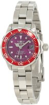 Invicta Women's 12523 Pro-Diver Purple Dial Watch