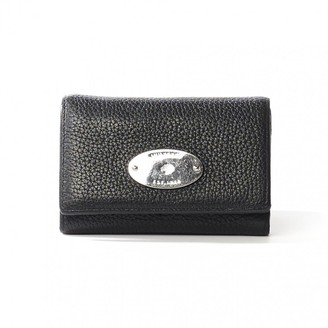 Mulberry Black Leather Wallets