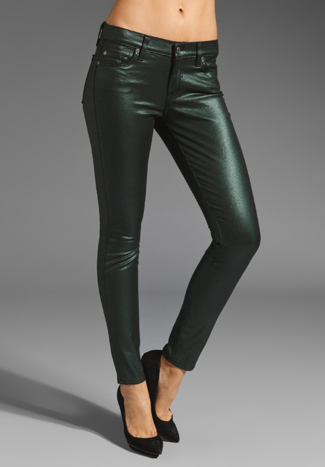 7 For All Mankind The Liquid Metallic Skinny