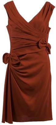 Valentino Red Wool Dresses