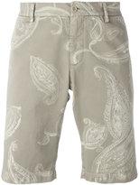 Etro paisley print chino shorts - men - Cotton/Spandex/Elastane - 50