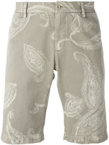 Etro paisley print chino shorts - men - Cotton/Spandex/Elastane - 52