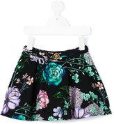 Young Versace - floral print skirt - kids - Cotton/Spandex/Elastane - 4 yrs