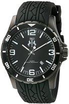Jivago Men's JV0110 Ultimate Analog Display Swiss Quartz Black Watch
