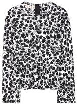 Marni Floral-printed Silk Blouse