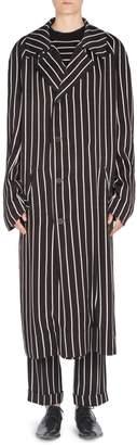 Haider Ackermann Striped Raglan Coat