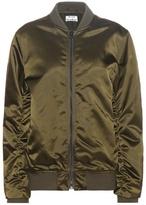 Acne Studios Leia satin bomber jacket