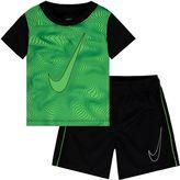 Nike Baby Boy Swoosh Tee & Shorts Set