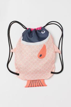 H&M Appliqued gym bag