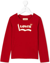 Levi's Kids logo print top