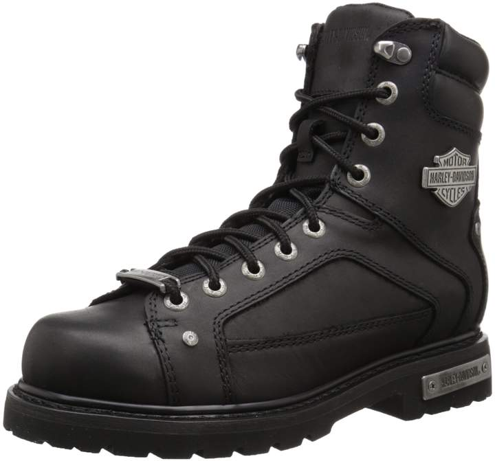 Harley-Davidson Men's Abercorn Boots, Leather, Rubber, 10 W