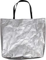 Heisel Silver Shopper Tote Bag