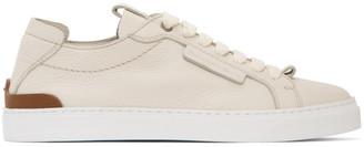 Ermenegildo Zegna White Ferrara Sneakers