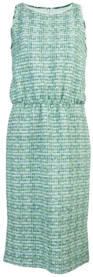 Giambattista Valli Sleeveless tweed dress