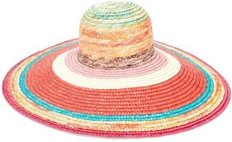Missoni Mare Striped Wide-Brim Hat