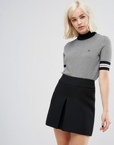 Fred Perry Houndstooth Knit Jumper